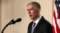 Gorsuch to hear first case as SCOTUS justice