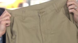 College students throw a retirement party for cargo shorts