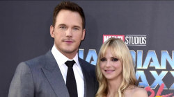 See how Anna Faris and Chris Pratt got ready for 'Guardians of the Galaxy' premiere