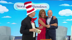 Hoda and Matt faceoff in storybook showdown