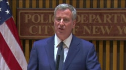 'Soft On Crime'? NYC Mayor Responds to Dept. of Justice Accusation