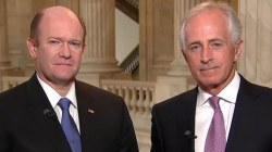 Sens. Corker and Coons: America Has Moral Responsibility Abroad