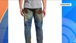 Would you pay $425 for fake mud-splattered jeans from Nordstrom?