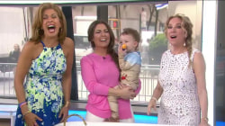 Watch Bobbie Thomas' adorable son Miles join her for Bobbie's Buzz