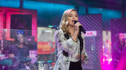 Watch Olivia Holt perform her latest single 'History' live on TODAY