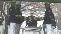 John Glenn Laid to Rest Four Months After His Death