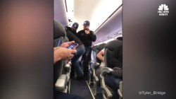 Man Dragged Off Overbooked Flight After Refusing to Give up Seat