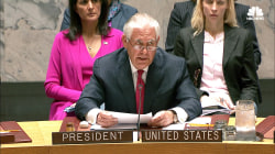 Tillerson Urges UN to Act Before North Korea Does