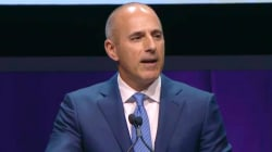 See Matt Lauer's touching tribute to Savannah Guthrie at Matrix Awards