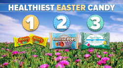 Tootsie Pops, Reese's, M&M's: Which is the healthiest Easter candy?