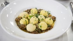 Ricotta gnudi recipe: See how to make the Italian dish at home