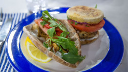 Chicken souvlaki, turkey burgers and tzatziki: Cook a healthy Greek feast