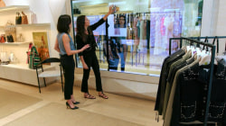 Retailers embrace high tech to lure customers into stores
