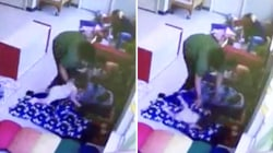 Caught on video: Day care worker slams toddler onto floor