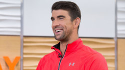 Michael Phelps on conserving water and his April Fools' comeback prank