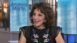 Andrea Martin talks about new show 'Great News' and her show biz sons