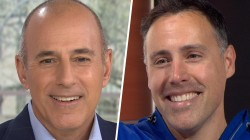 Matt Lauer's doppelganger visits Studio 1A: 'I have a bit more hair'
