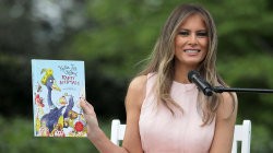 Melania Trump reads Kathie Lee's children's book at White House Easter egg roll