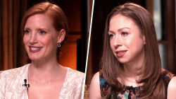 Jessica Chastain, Chelsea Clinton, others talk about their philanthropic work
