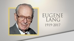 Life well lived: Businessman and philanthropist Eugene Lang dies at 98
