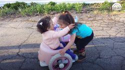 Family builds custom wheelchair for daughter and other toddlers in need