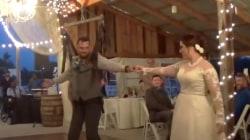 Paralyzed groom dances at wedding