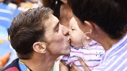 5 things Olympian Michael Phelps has learned about being a dad to baby Boomer