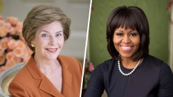 First lady portraits through the years