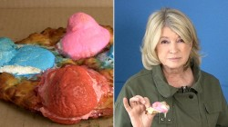 Martha Stewart, Bobby Flay and other celebrity chefs try Peeps pizza