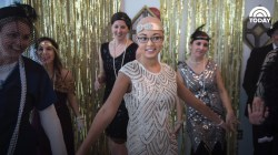 Hospital throws Gatsby-themed prom for teen patient