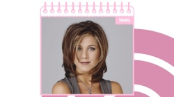 See Jennifer Aniston's hair evolution