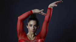 Aly Raisman on why she loves her muscular arms