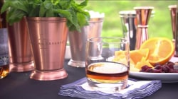 Make the classic mint julep for your Kentucky Derby party