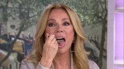 Kathie Lee Gifford takes the 'mustard challenge' to help kids with cancer