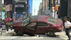 Times Square: 1 Dead, 22 Injured as Car Rams Pedestrians