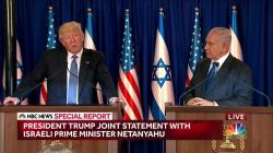 Trump Pledges 'Renewed Effort' for Peace Between Israelis, Palestinians