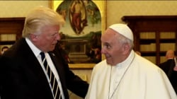 Pope To First Lady: 'What Do You Give [Trump] To Eat?'