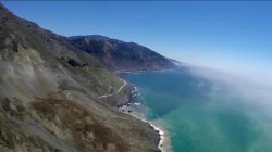 Landslide Buries Stretch of Famous Hwy. 1 at California's Big Sur