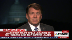 GOP Senator Mike Rounds defends work Trump's done so far