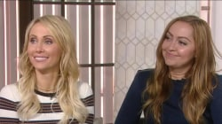 Tish and Brandi Cyrus talk about their new design show (and Miley's old room)