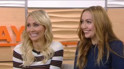 Watch Tish and Brandi Cyrus show their differing design styles live on TODAY