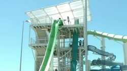 Boy thrown from waterslide at new California waterpark