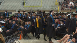 Notre Dame Students Walk Out During Pence's Graduation Speech