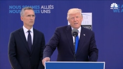 Trump Slams NATO Allies: 23 of 28 Nations 'Still Not Paying' Fair Share