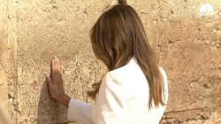 First Lady Melania,  Ivanka Trump Visit The Western Wall