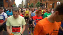 Manchester Hosts Race And Honors Victims of Bombing
