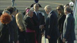 Trump, First Lady Arrive in Rome for Third Leg of Overseas Trip