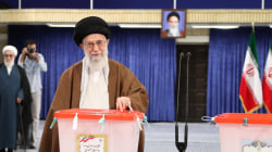 Iran's Supreme Leader and President Cast Their Votes in Election