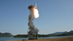 N. Korea Successfully Tests Medium-Range Ballistic Missile, State TV Says