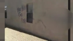Arizona Home Vandalized with Racial Slurs